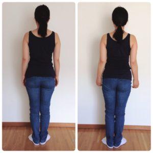 Bodyラインの変化